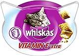 Whiskas Knusper-Taschen Vitamin E-XTRA, 8er Pack (8 x 50 g)
