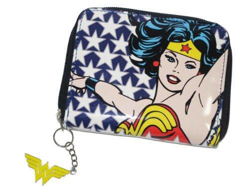 Wonder Woman Schuhe (Wonder Woman - Geldbeutel Stars (in 10,5 x 12,5)