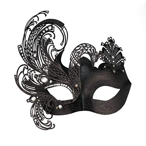 Geheimnisvolle venezianische Schmetterlings-glänzende Schmetterlings-Dame Masquerade Halloween-Karneval-Party-Maske (Venezianische Maske Schmetterling)