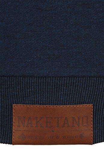 Naketano Female Zipped Jacket Dirty Brazzo Dirty Dark Blue Melange