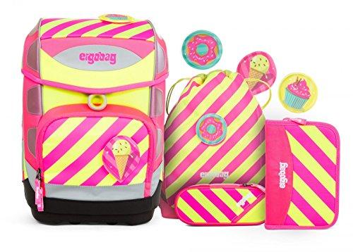 ergobag Cubo set di zaino scuola e accessorio