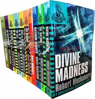 Cherub Series Collection Pack Robert Muchamore 12 Books Set RRP: £83.88 (Robert Muchamore Collection) (The Fall, Man Vs Beast, The Sleepwalker, Class A, The Killing, Maximum Security, Brigands M. C., The General, The Recruit, Mad Dogs, Divine Madness,
