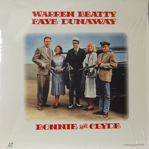 Bonnie And Clyde Laser Disc Wide Screen Edition 1995 Warner Brothers. Faye Dunaway Warren Beatty Gene Hackman