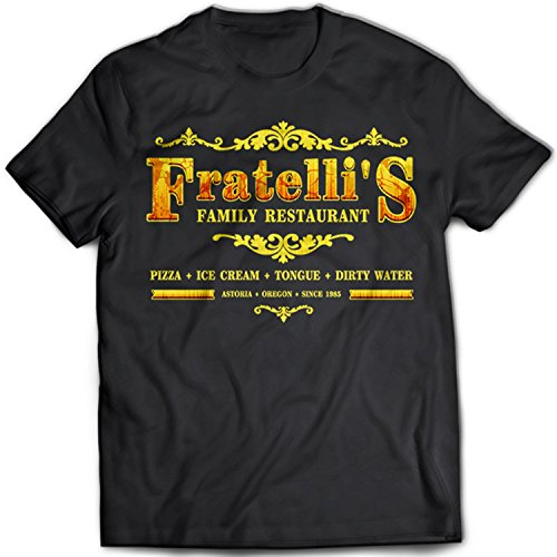 Goonies Fratelli's Family Restaurant T-shirt Adults