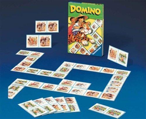 Domino mit Motiven von Kindern aus der ganzen Welt, für 2-6 Spieler (Kinderspiel)