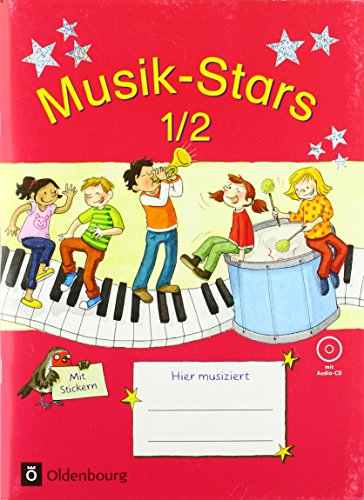 Musik-Stars - Grundwissen: 1./2. Schuljahr - Übungsheft mit Lösungen und Audio-CD