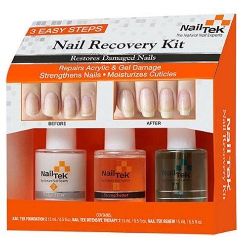Nail Tek - Nail Recovery 3pc Kit - 15ml / 0.5oz Each