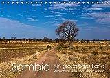 Sambia - ein großartiges Land (Tischkalender 2019 DIN A5 quer): Sambia ist ein großartiges, touristisch noch wenig erschlossenes, Land mit ... (Monatskalender, 14 Seiten ) (CALVENDO Orte)