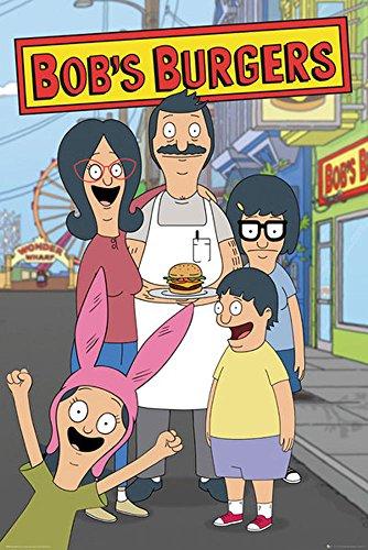 empireposter 745446Bobs Burgers-Family-Stampa Animata, Carta, Multicolore, 91,5x 61x 0,14cm