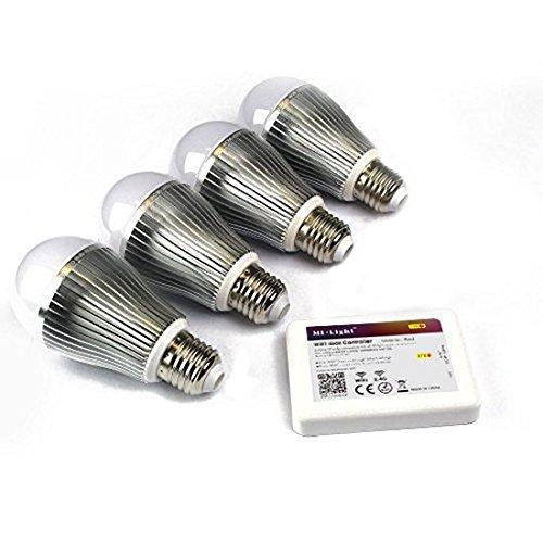Preisvergleich Produktbild Mi-Light Selection (Mi-Light 4 x E27 9w w / iBox2 WiFi Control)