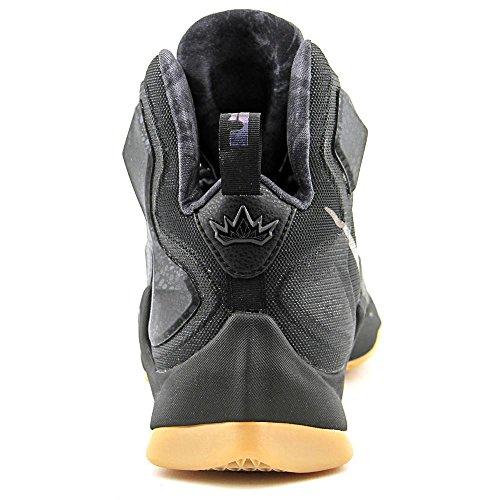 Nike Lebron Xiii, Scarpe da Basket Uomo, Talla Multicolore (Negro / Gris (Black / Black-Anthracite))