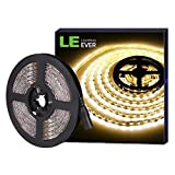 LE Tira LED Luces, 5m 300 LED SMD 5050, Blanco...