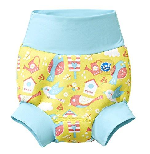 Neue Splash (Splash About Unisex-Baby Neue Und Verbesserte Happy Nappy Windel Schwimmen, Garden Birds, 2-3 Jahre)