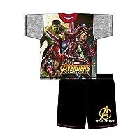 Marvel Avengers Infinifty War Heroes Boys Shortie Pyjamas