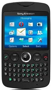 Sony Ericsson txt Smartphone (6,3 cm (2,5 Zoll) Display, 3,2 Megapixel Kamera, microSD, GSM, GPRS, WiFi) schwarz