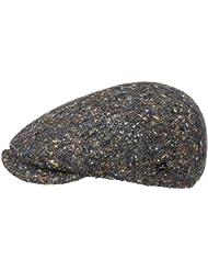 Lierys Virgin Wool Tweed Flatcap Schirmmütze Wollcap Schiebermütze Cap Mütze Kappe Schirmmütze Schiebermütze Wintercap Mit Schirm