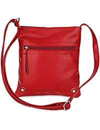 Hannea Guapabien PU Leather Solid Color Rectangle Light Weight Shoulder Bag