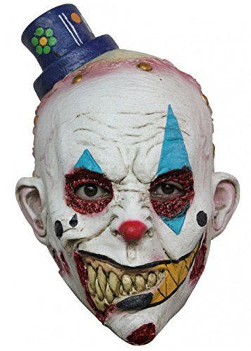 Scary Killer Clown Maske ()