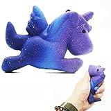 Solike Squishy Einhorn, Flügel Einhorn Kawaii Creme duftenden Squishy Charms Stress Relief Spielzeug