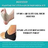 MEDIZED, supporto ortopedico per fascite plantare e dolori da caviglia
