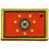 Écusson brodé Flag Patch Amérindien Cherokees Tchérokîs Nation - 8 x 6 cm
