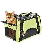 Huanxu - faltbare Katzentragetasche mit weichen Seitenteilen