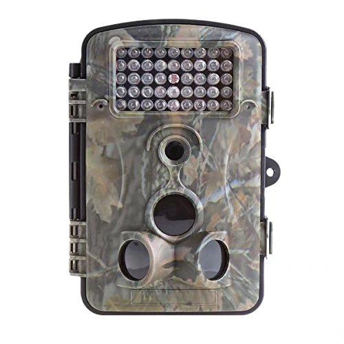 Wen&Cheng 12MP 1080P Wildkamera mit 56° Ansicht Winkelobjektiv, 940NM Infrarot Flash Nachtsicht, 3 Zone 20m 120° PIR Sensor 2.4