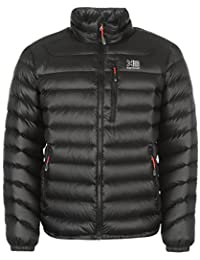 Karrimor Mens Ice Down Jacket Coat Top High Neck Zip Full Warm Chest Pocket