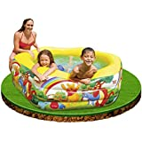 Disney Deluxe Pool Winnie The Pooh 191cm x 178cm x 61cm 57494NP by Intex