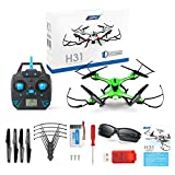 Kingtoys JJRC H31 Quadcopter RC Drone Etanche Headless 360 ° RC Quadcopter RTF avec Lumière LED (Vert)