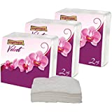 Mystique Super Soft 2 Ply Velvet Napkin 50 Pieces- Pack of 3(Total 150 Pieces Napkin)
