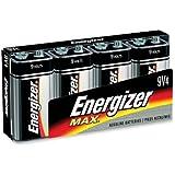 MAX Alkaline Batteries 9V 4 Batteries/Pack MAX Alkaline Batteries