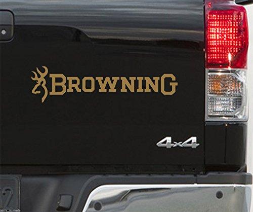 Browning buckmark autocollants en vinyle de Tir x 2500mm sticker de pêche