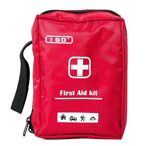 Cold-pack Case Pack (I GO Ultra-Light & Small First Aid Kit, Durable Nylon Case - Ideal für das Auto, Küche, Schule, Camping, Wandern, Reisen, Büro, Sport, Jagd und Heim, Notfall & Survival)