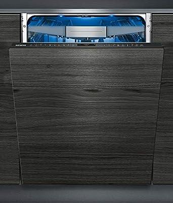 Siemens iQ700 SX778D86TE lavavajilla Totalmente integrado 13 cubiertos A+++ - Lavavajillas (Totalmente integrado, Tamaño completo (60 cm), Negro, Tocar, TFT, 1,75 m)