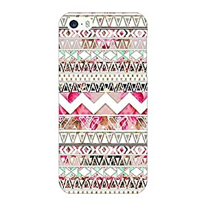 Jugaaduu Aztec Girly Tribal Back Cover Case For Apple iPhone 5c