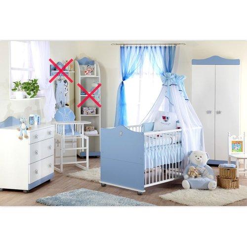 Babyzimmer Kleiner Prinz Schrank Kommode, Bett und Lattenrost (Der Komplette Serie Kleine Prinz)