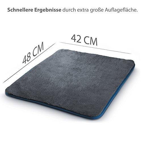 mikrofasertu--Cher-con-1100-GSM-von-licargo--Porta-asciugamani-con-estrema-Potenza-di-aspirazione-Fu-la-possibilit-auto-cura--42-x-48-cm-grande-panno-Fu-la-possibilit-autowa--SCHE
