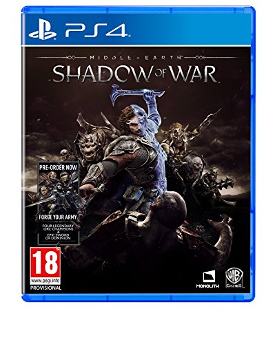 Middle-earth: Shadow of War (PS4) Best Price and Cheapest
