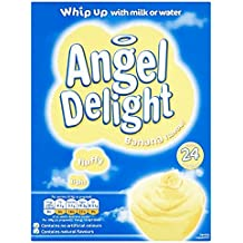 Ángel Delight plátano postre sabor Sirve 24 600g (paquete ...