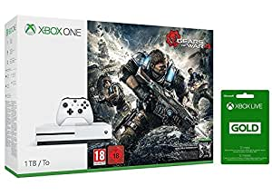 Xbox One S 1Tb + Gears of War 4 + Live 12 mesi
