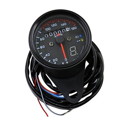 Wewoo 3in 1Reduzierstück Wasserdicht Universal Stromzähler-Rolatape Gegenlicht Motorrad LED DC 12V