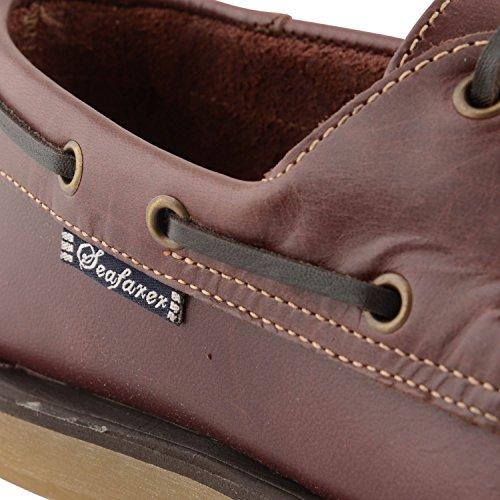 Chatham Marine Commodore Herren Casual Schnürschuh Boot Deck Schuhe Hautfarben