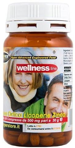 Prostate Supplement | 1 Packungen | 60 Tabletten | Formulierung mit Serenoa repens (Sägepalme), Brennnessel, Lycopin | Natürliches Heilmittel | 1 Packung 2 Monate der Behandlung