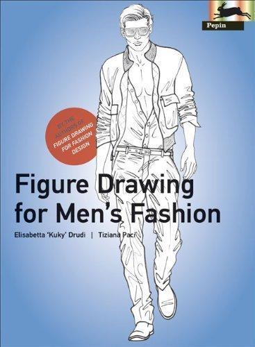 Figure Drawing for Men's Fashion (Pepin Press Design Books) (Fashion & Textiles) by Elisabetta Drudi (2011) Paperback