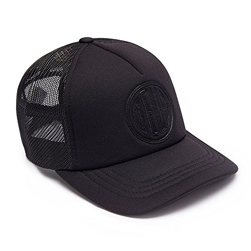 DEUS Kappe Trucker Pill - black on black (Deus Ex Machina)