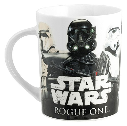 Home Star Wars Rogue 1 Mug Decoro Soldati Imperiali, Porcellana, Multicolore, 11x8x10 cm