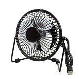 Best 12v Fans - Electomania TM Metal Series Mini USB Fan, 360 Review