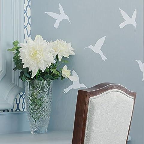 The Stencil Studio Ltd - Hummingbirds Stencil - Reusable Stencil