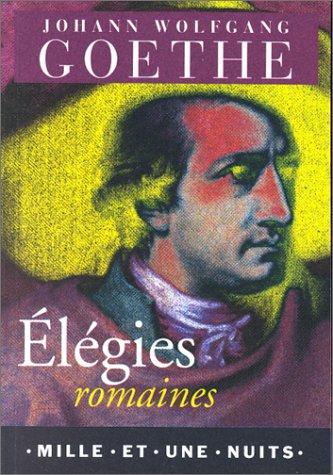 Elégies romaines (bilingue)